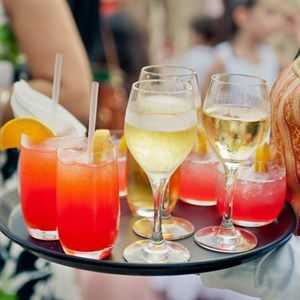 Cocktails at Party