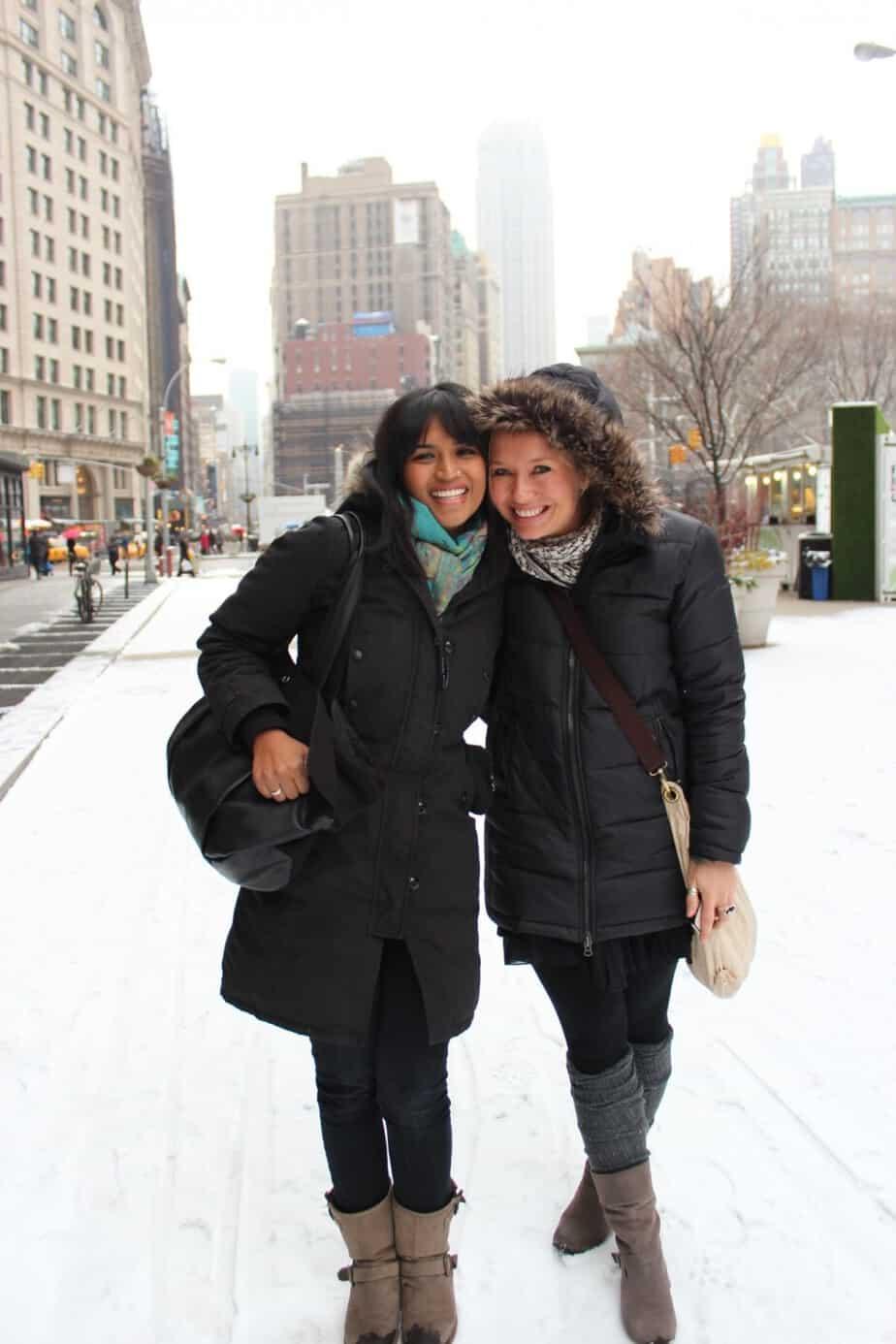 Jenny S and Ritu A