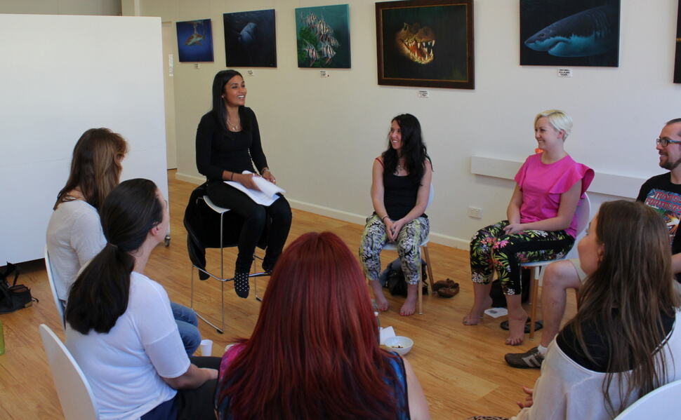 Sydney Meditation workshop 3