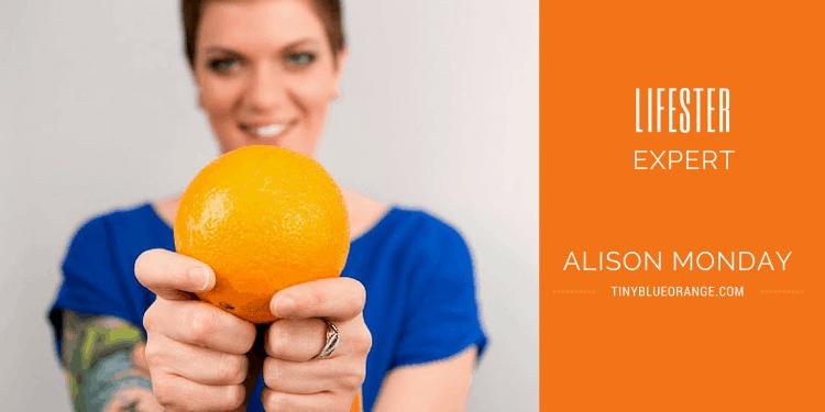alison monday founder of tiny blue orange